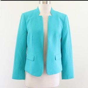 Ann Taylor LOFT Blazer Blue Open Blazer Size 8